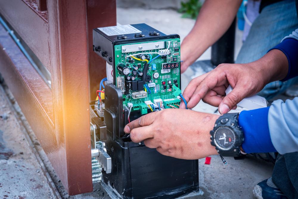 Technisch onderhoud automatische poort