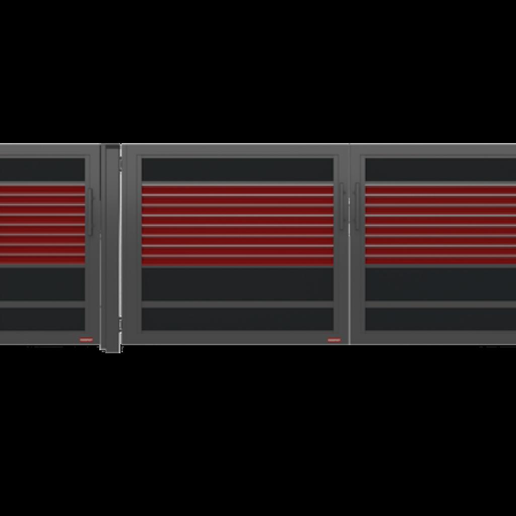draaipoort modulair
